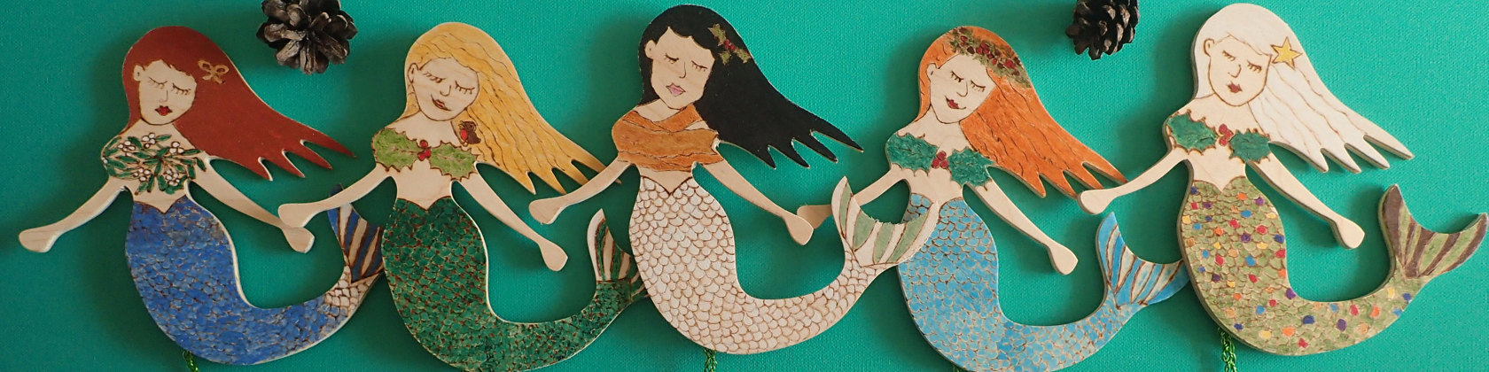 christmas mermaid inspiration