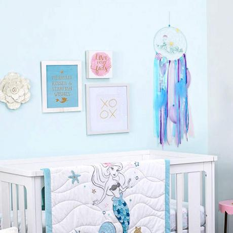 AerWo mermaid dreamcatcher baby