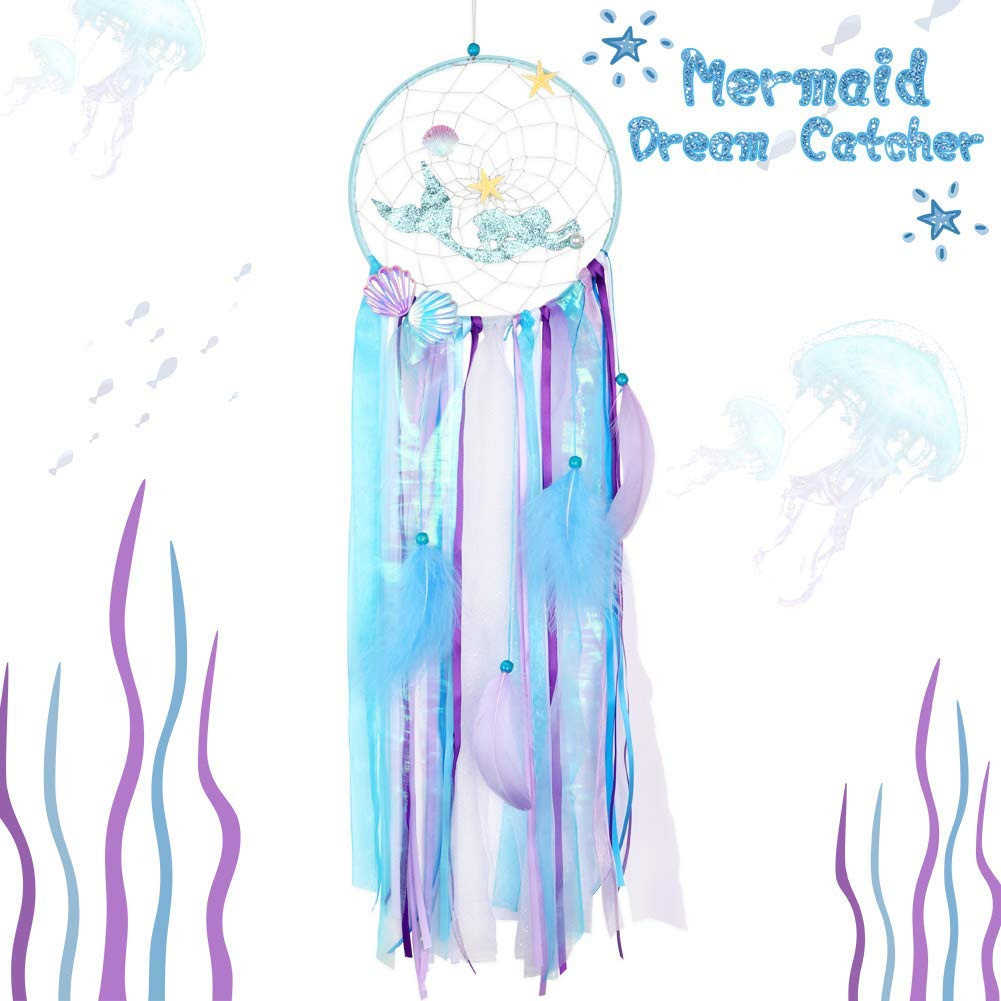 AerWo Mermaid Dreamcatcher