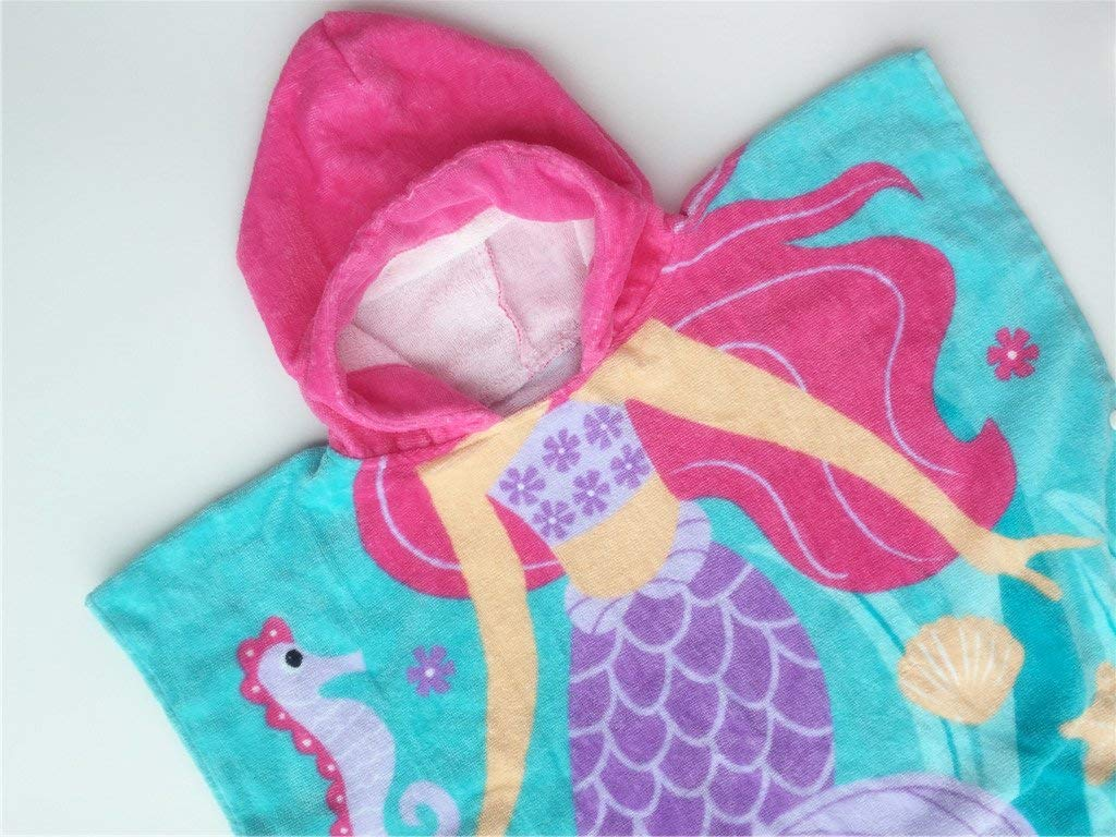 Athaelay Hooded Mermaid Towel Hood