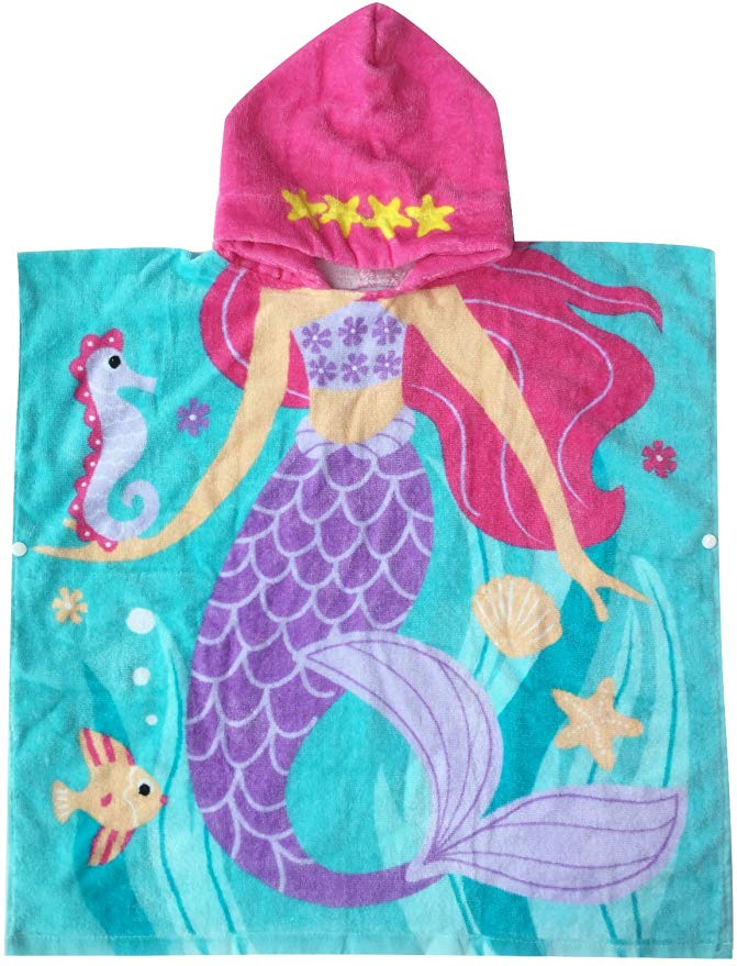 Athaelay Hooded Mermaid Towel