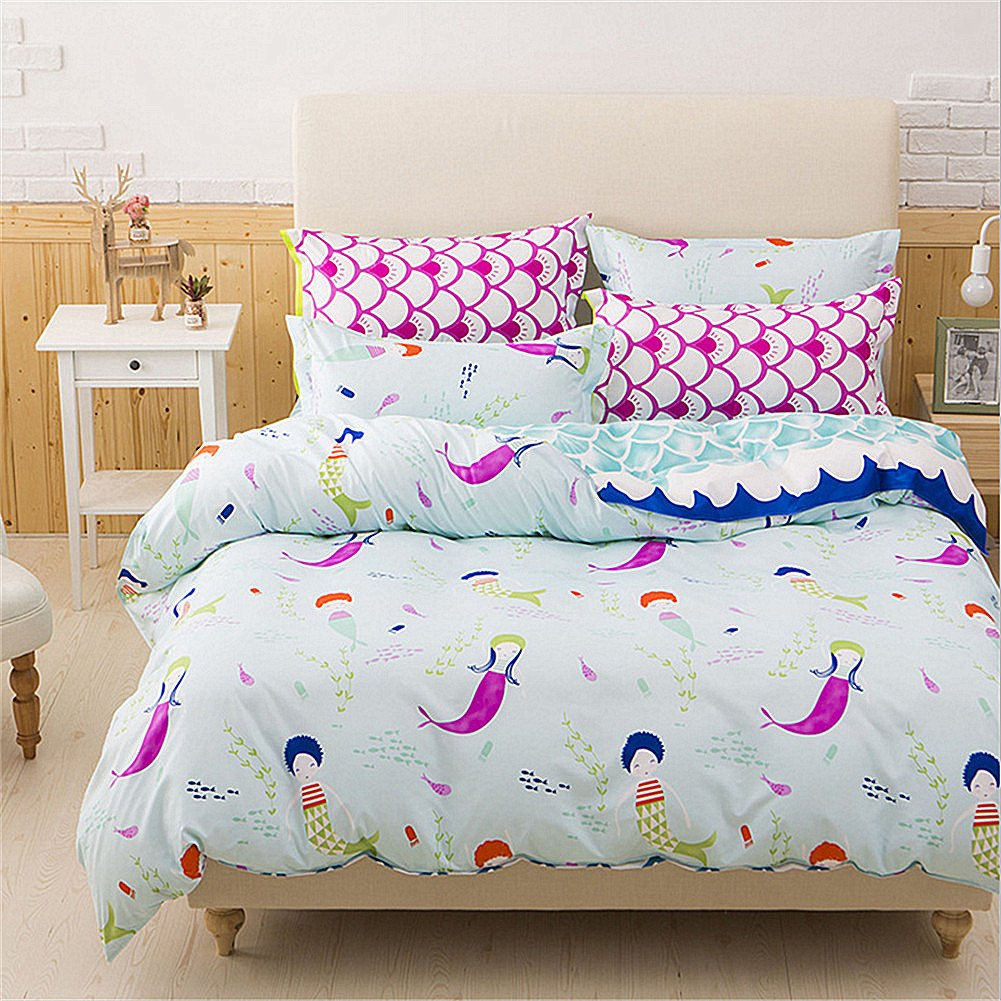 DOTBUY mermaid double duvet cover