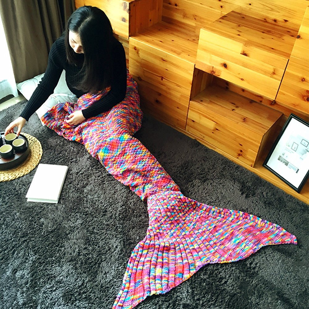 Fansheng Mermaid Tail Blanket