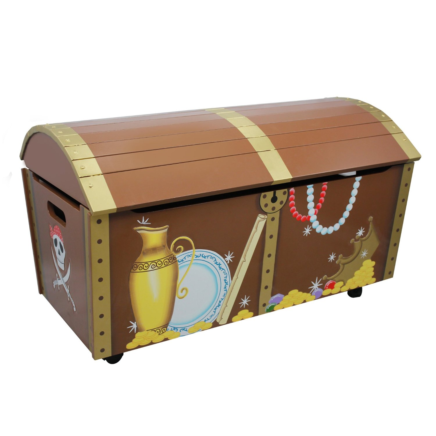 best ocean wooden treasure chests for your bedroom the mermaids home