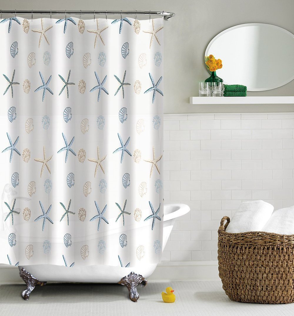 Best Nautical Sea Shower Curtains | The Mermaids Home