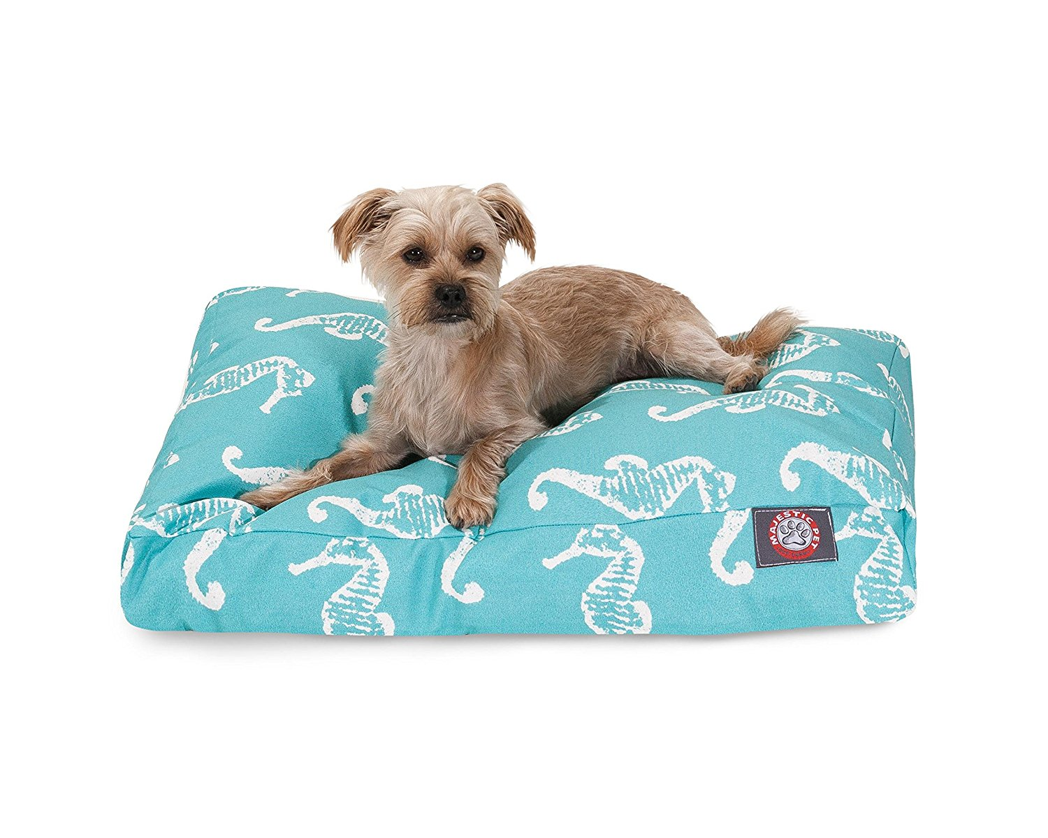 Majestic Pet Seahorse Rectangular Dog Bed