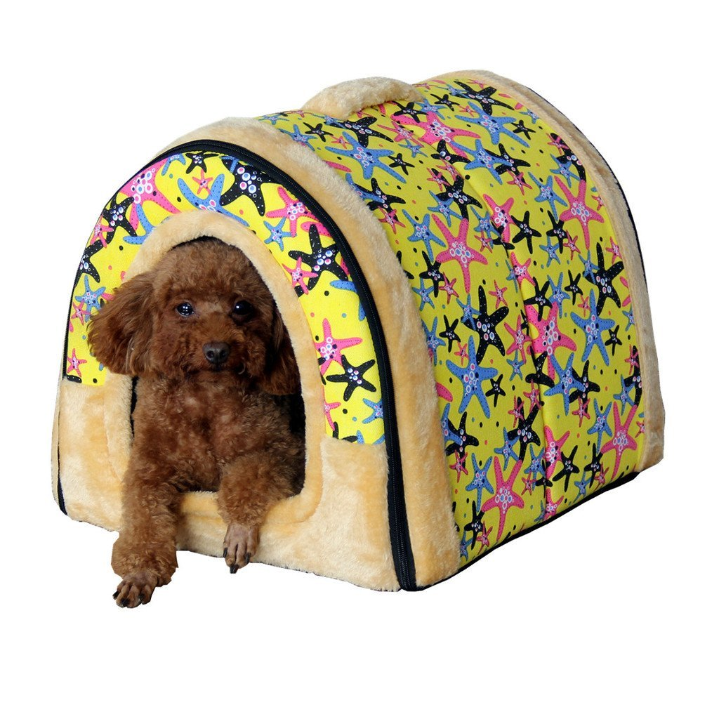 Mixse Starfish Igloo Dog Bed