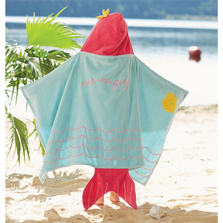 Mud Pie Baby Hooded Bath Towel
