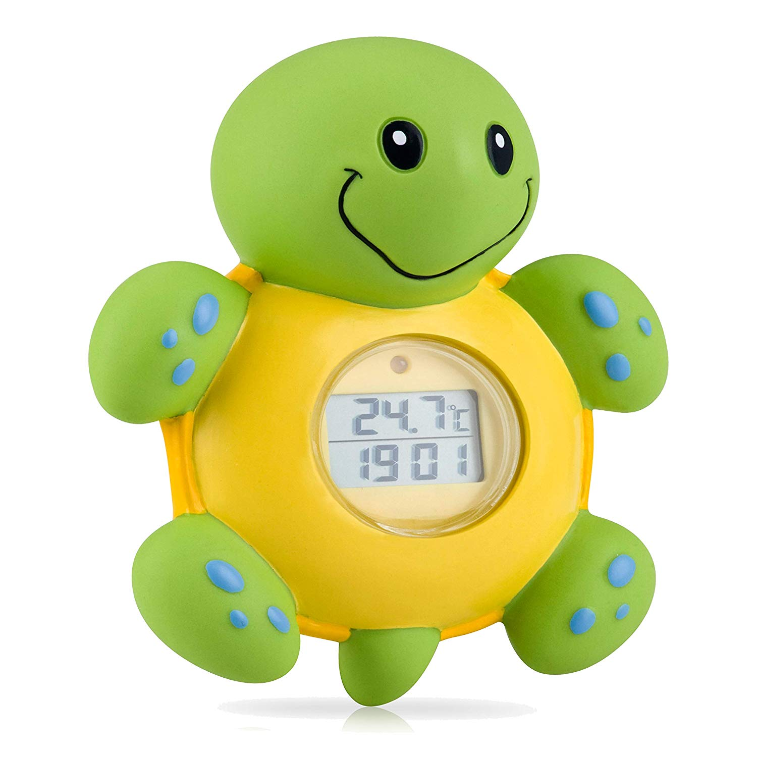Nuby Turtle Bath Thermometer and Clock