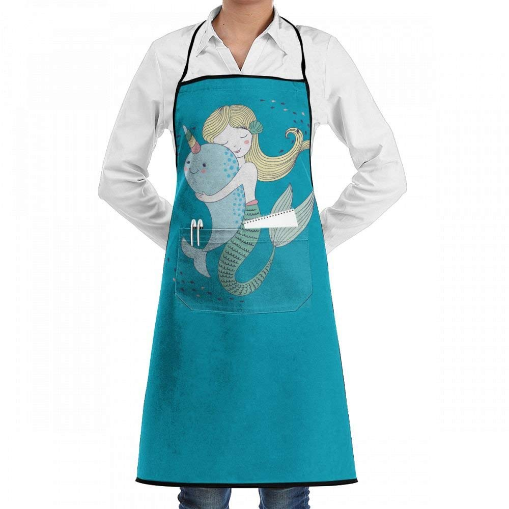 Qidsuf Kawaii Mermaid Apron