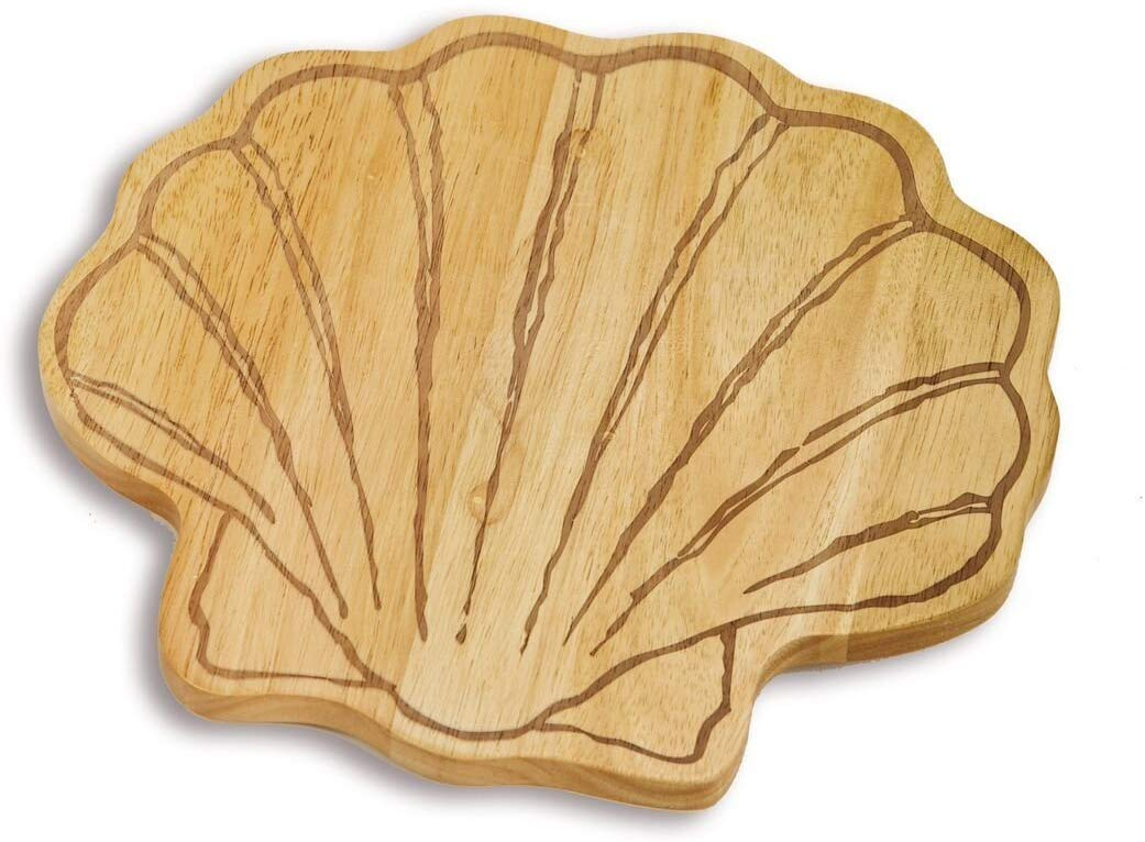 scallop wood board