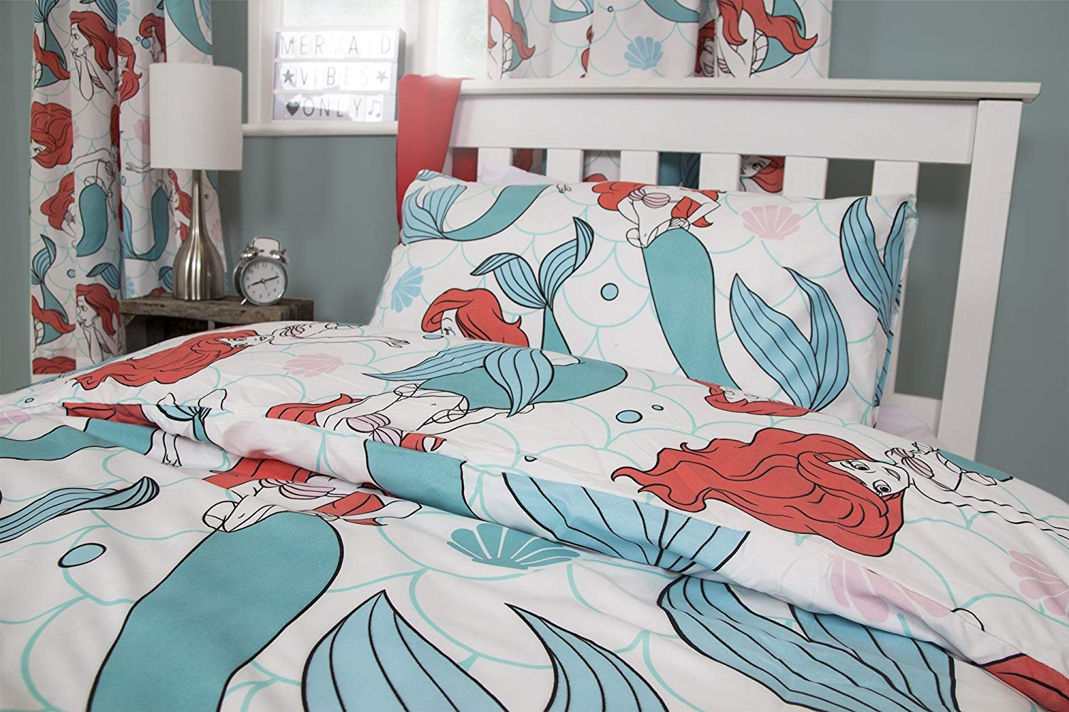 The Little Mermaid Reversible Duvet Cover