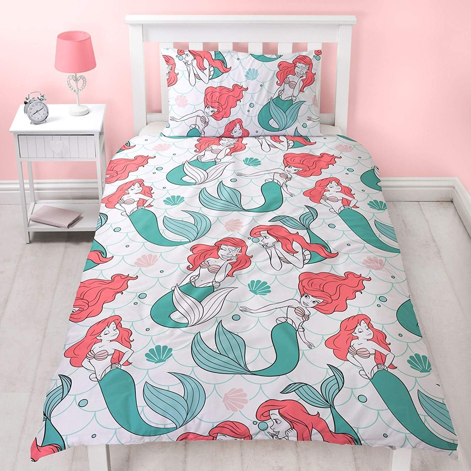 The Little Mermaid Single Duvet Cover