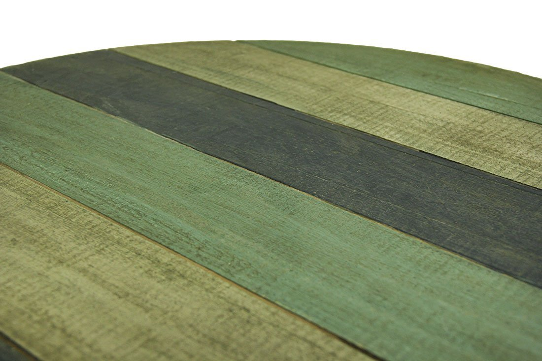 Triple Whale Round Wooden Table Top