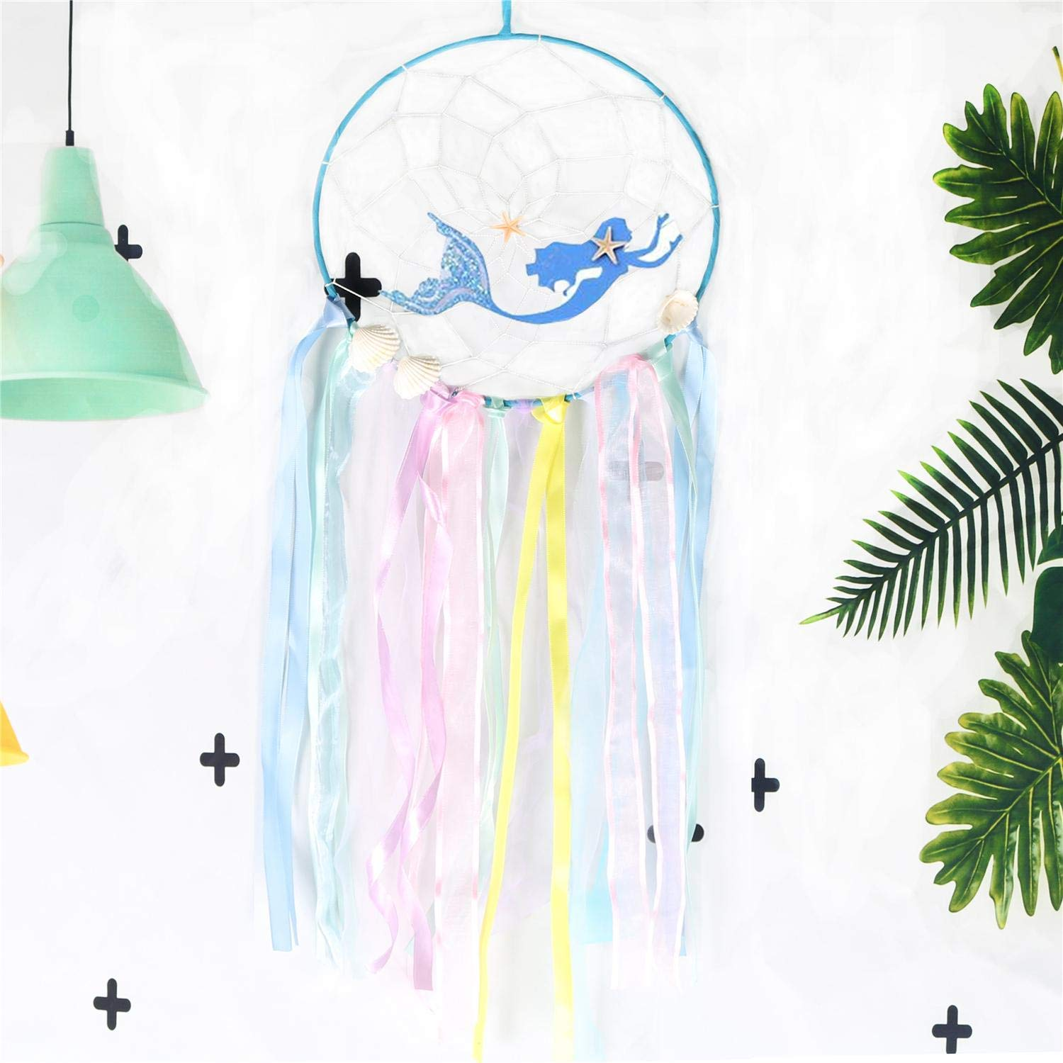 ZUEXT Mermaid Dream Catcher