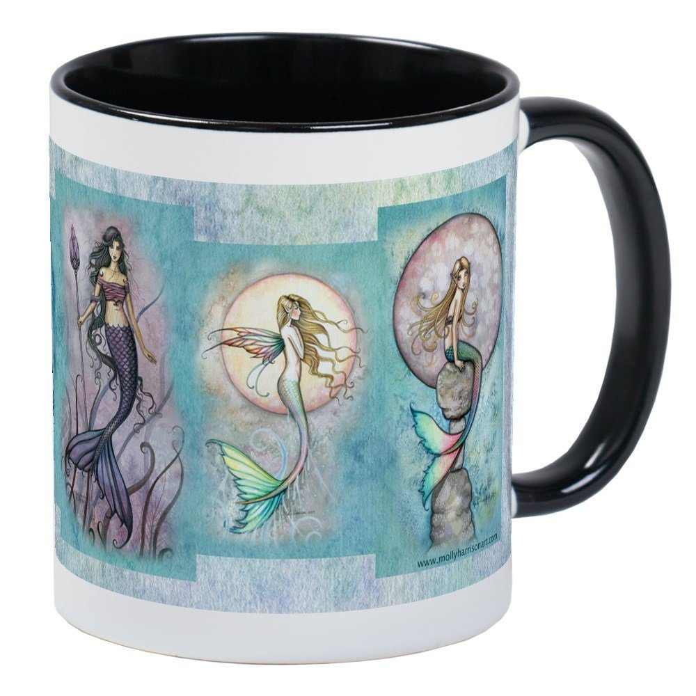 CafePress Many Mermaids by Molly Harrison Mug