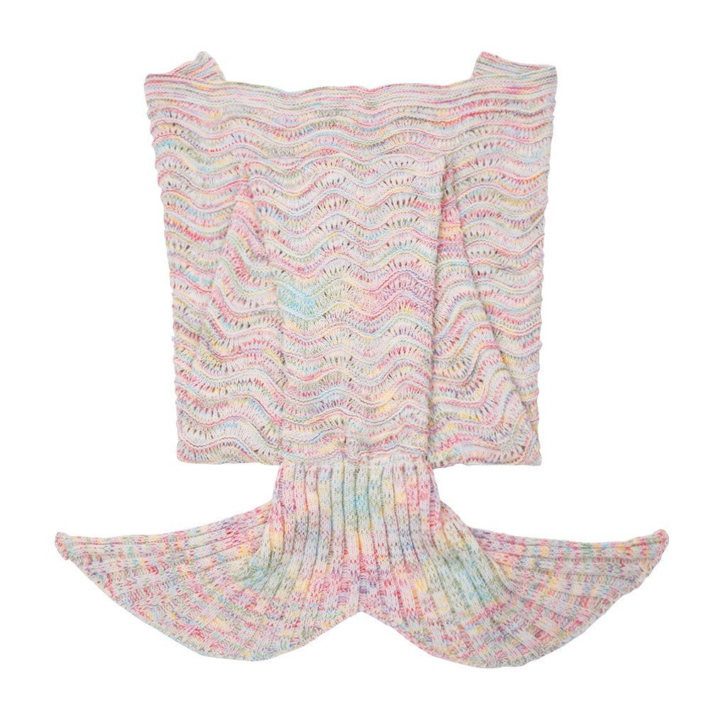 mermaid tail blanket throw