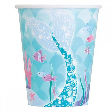 mermaid party cup