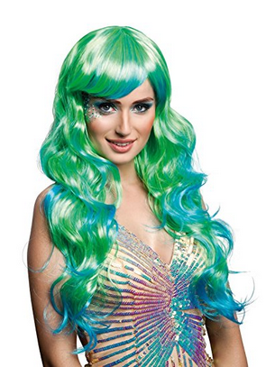mermaid wig hair