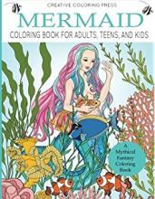 creative mermaid coloring book