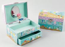 mermaid and ocean themed jewellery box