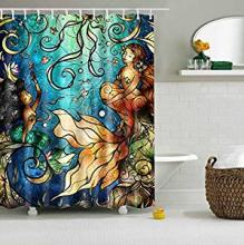sea ocean mermaid inspired bathroom